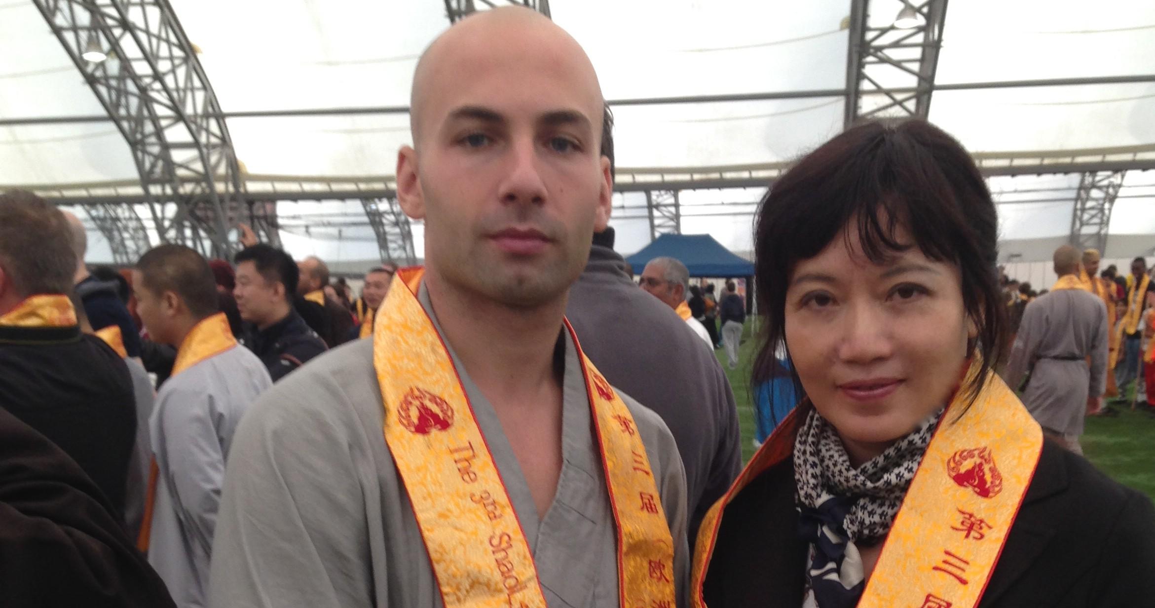 A great Shaolin monk. Matthew Ahmet