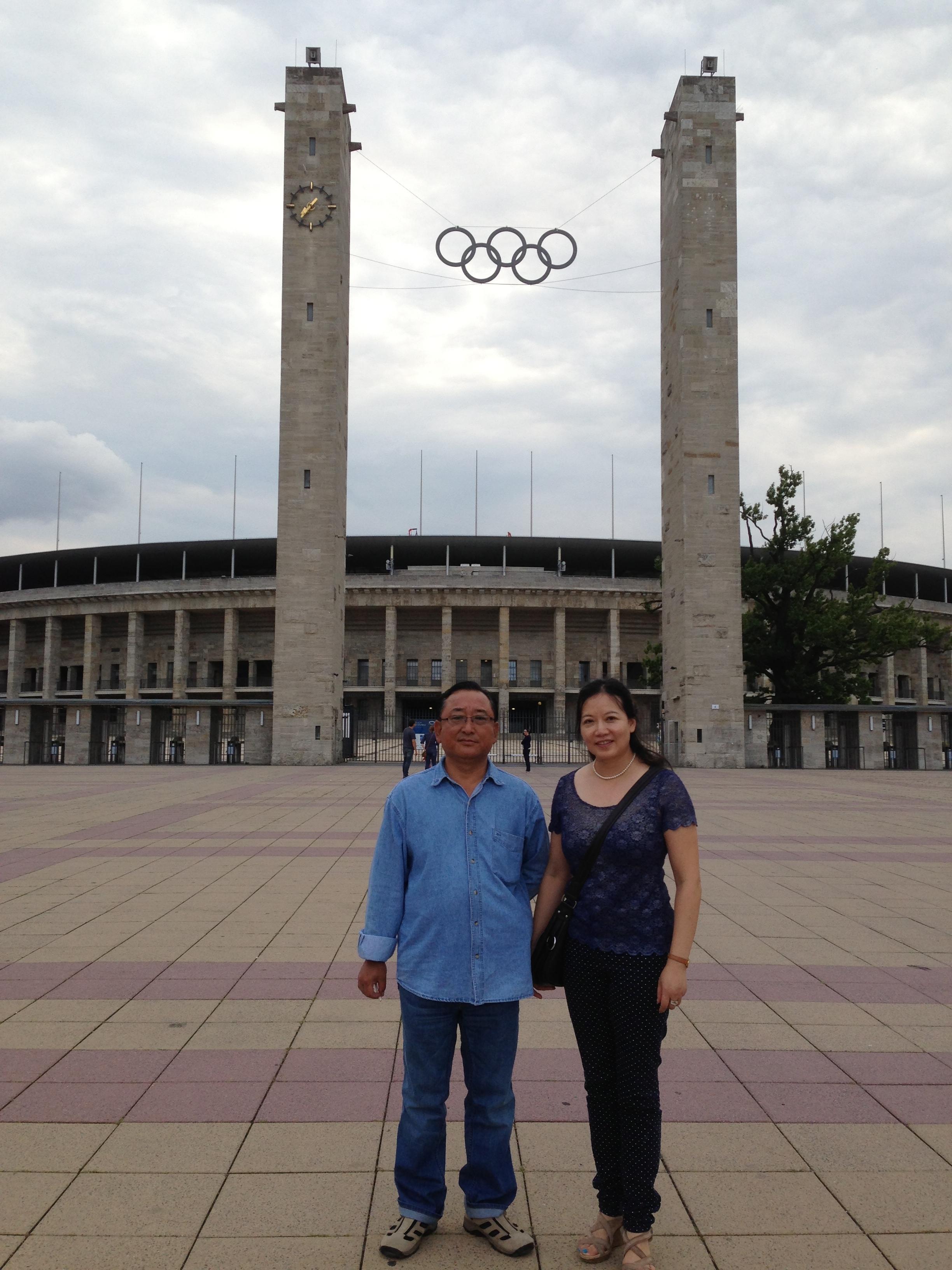 Meeting Za Ji leader Zhong Jian Ping